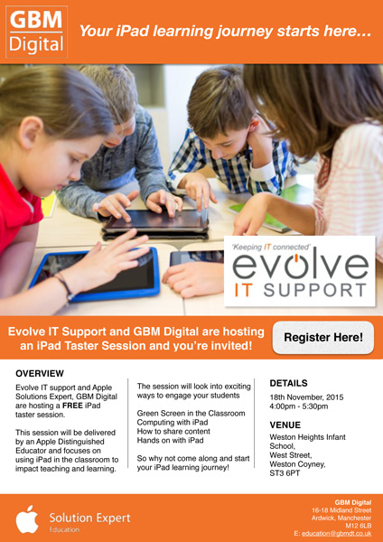 GBM - Evolve iPad Training