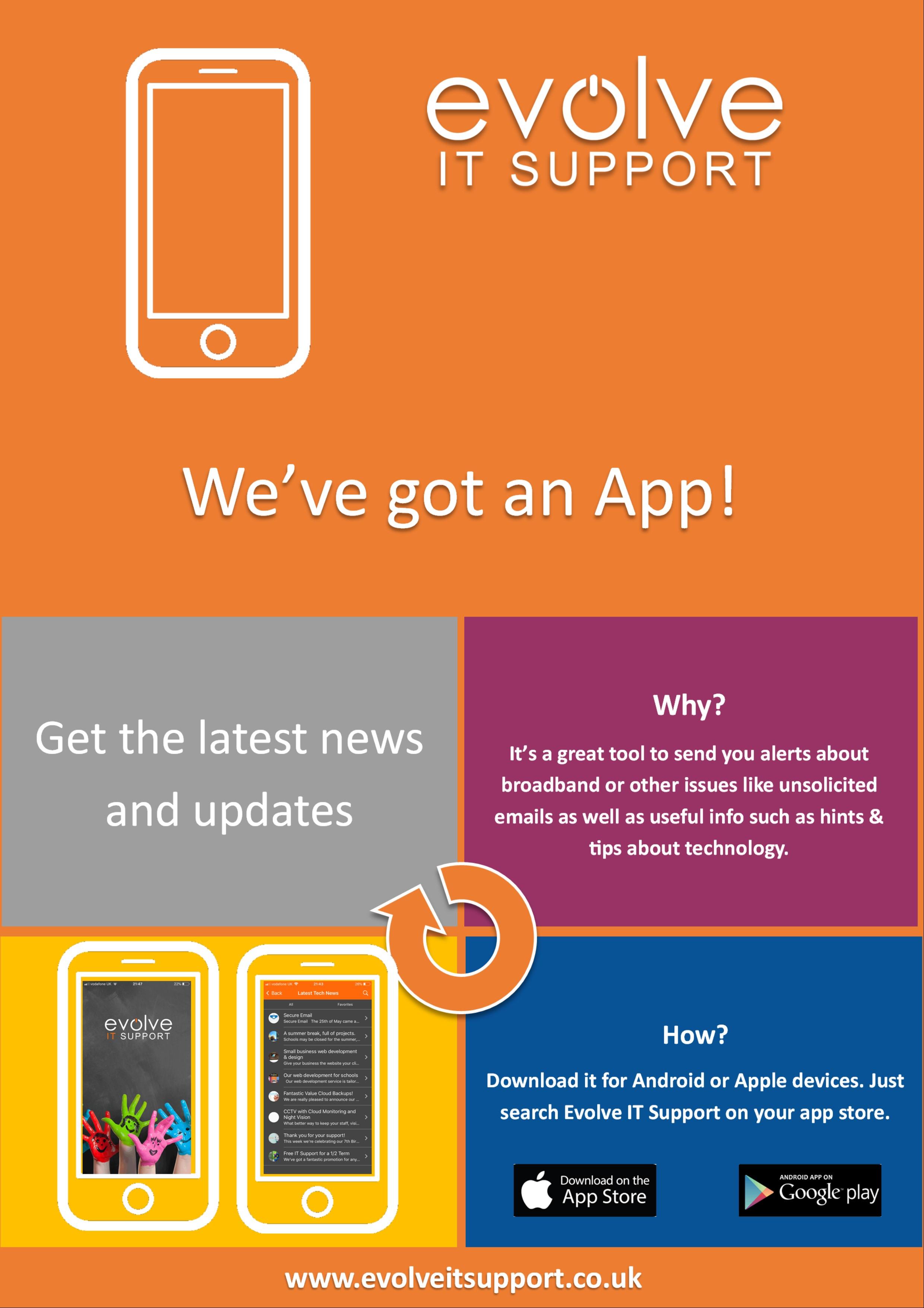 evolve it support customer app